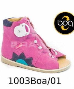 Kapcie, obuwie letnie - AURELKA (1003 BOA)