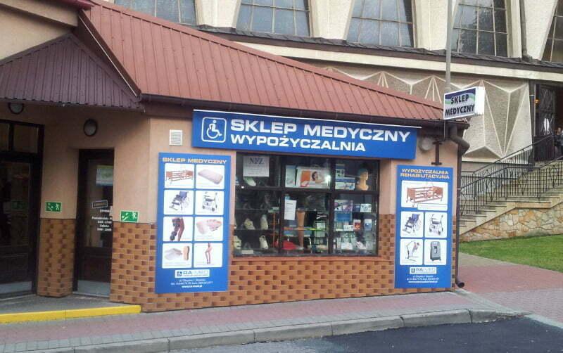 Sklep Medyczny i Wypożyczalnia - Brzesko