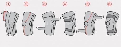 Orteza kończyny dolnej (AM-OSK-O/1R)