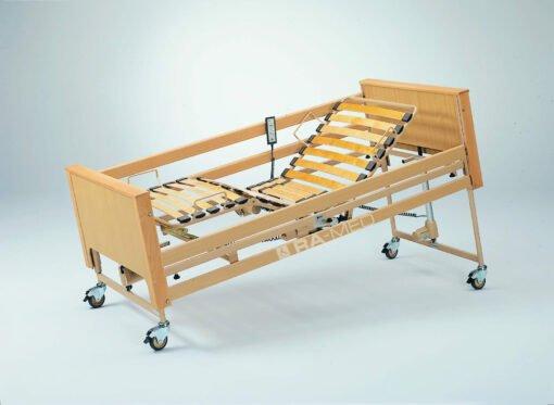 Łóżko rehabilitacyjne, elektryczne, drewniane - WYPOŻYCZALNIA / 1 m-c [Arminia III]