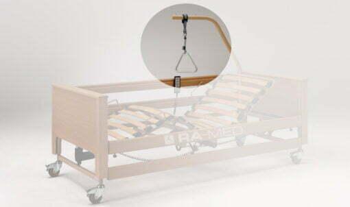 Uchwyt trójkąt do łóżek rehabilitacyjnych, szpitalnych