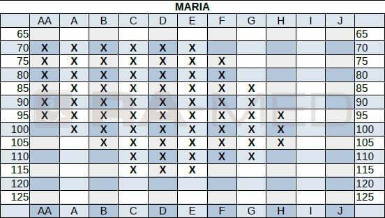 MARIA_Biustonosz-gorset_dla_amazonek-tabela_dostepnosci