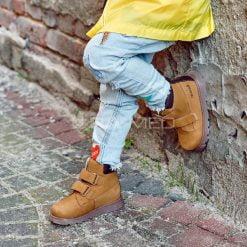 Trzewiki dziecięce sznurowane - MEMO (MALMO-2)