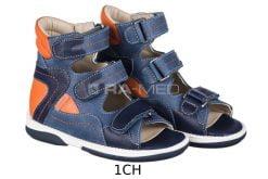 Sandałki profilaktyczne dziecięce młodzieżowe - MEMO (MICHAEL)