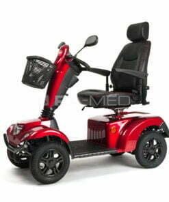 SKUTER Inwalidzki Elektryczny [CARPO 2 SE XD - Vermeiren], Wersja WZMOCNIONA