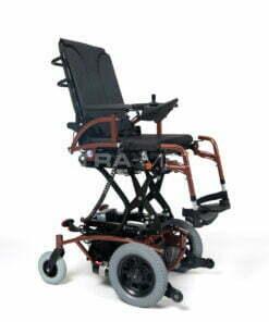 Wózek Inwalidzki ELEKTRYCZNY [NAVIX FWD - Vermeiren], Napęd Na Przednie Koła