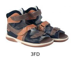 Sandałki z wysoką cholewką - MEMO (HERMES)