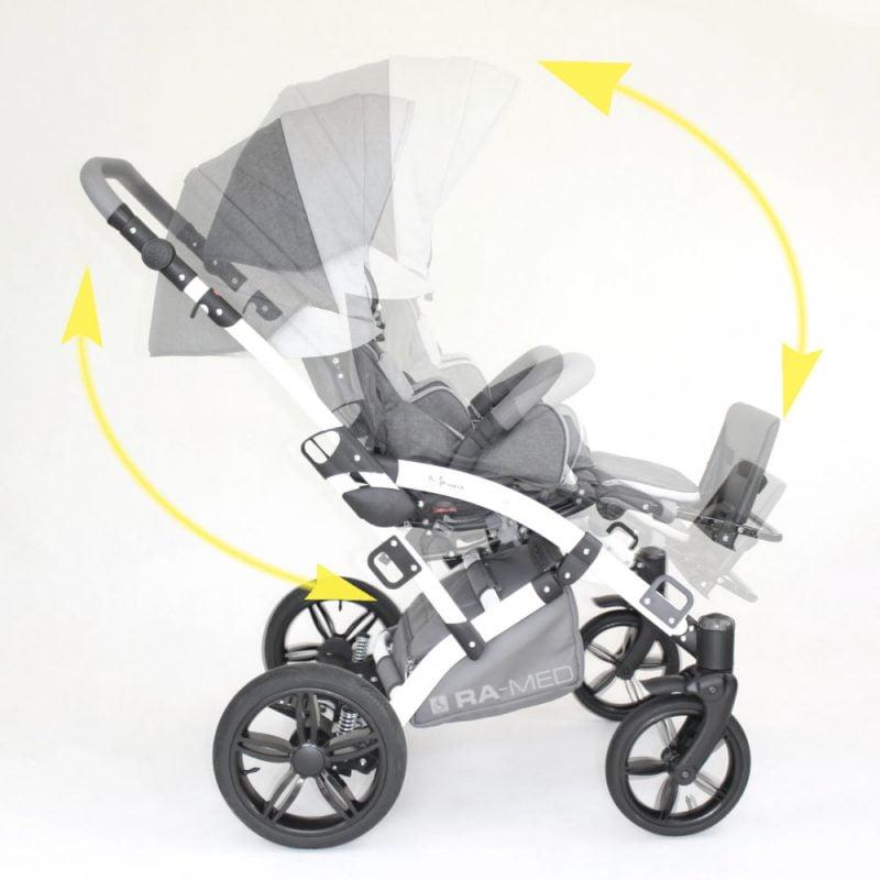 Wózek MEWA - kołyska
