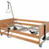 Łóżko rehabilitacyjne, elektryczne, drewniane - WYPOŻYCZALNIA / 1 m-c [L5 - AKS]