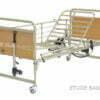 Łóżko rehabilitacyjne, elektryczne, metalowe - WYPOŻYCZALNIA / 1 m-c [Etude Basic - Invacare]